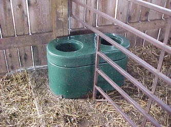 Clean, fresh water is very important for all livestock.