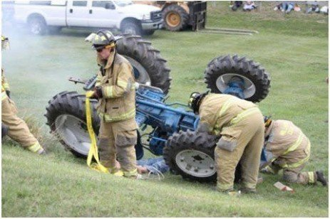 Emergency Rescue in an Agricultural Environment