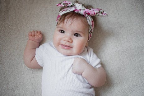 ABCs of Growing Healthy Kids: Five-Month-Old