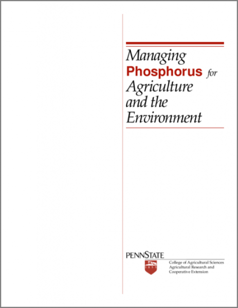 Managing Phosphorus for Agriculture and the Environment