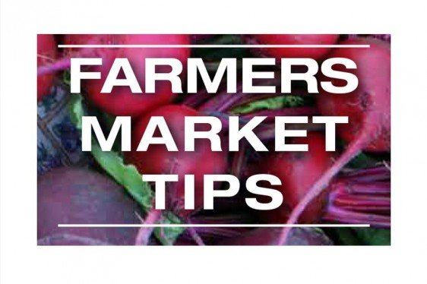 Farmers Market Tips Bookmark