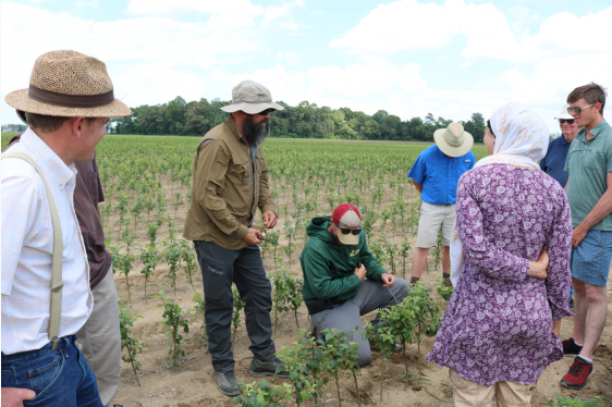 Specialty Crop Tour for Young Growers