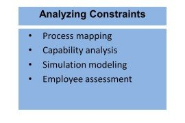 Operations Research Tools (Stage 1: Analyzing Constraints)