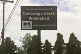 Watershed Welcome Sign