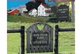 Hope Pryde Farm Bed and Breakfast. Their website captures the essence of their patron's experience
