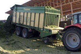 Waste Biogas Production From Stackable Long Stem Materials