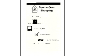 Managing Resources: Rent-to-Own Shopping