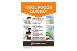 Food Safety Poster: Cool Foods Quickly