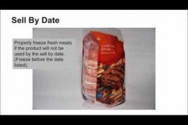 Date Marking of Food Packages