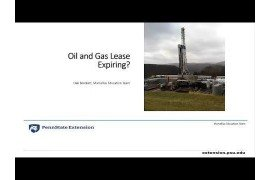 Oil and Gas Lease Expiring?