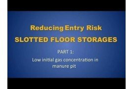 Manure Storage Ventilation Demonstration: Slotted Floor Storage