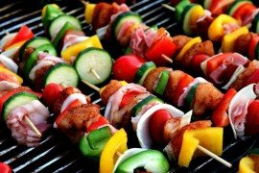 Healthy Grilled Vegetables