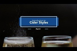 Introduction to Cider Styles: Part 2