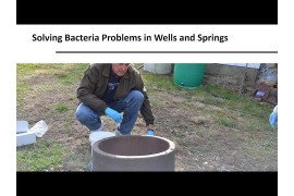 Solving Bacteria Problems in Wells and Springs