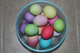 """Dyed Easter Eggs by Jim, the Photographer on flickr.com. Licensed under CC BY 2.0"