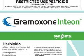 What is Occurring with Gramoxone - Paraquat?