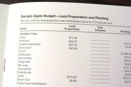 Sample budgets should help you ensure that all costs and receipts are included in your budget.