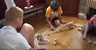 Learning, Rube Goldberg style!