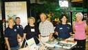Master Gardeners staff the horticultural booth at Ag Progress Days