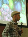 Michael Judd presented a program about permaculture and fruit trees.