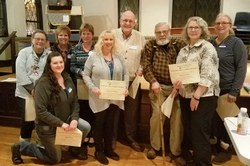Just a few of the dedicated Master Gardener volunteers who received awards.