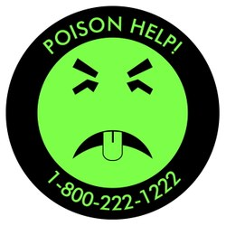 """Every Mr. Yuk sticker contains the national toll-free """"Poison Help"""" telephone number. Regardless of your location, dialing that number will direct your call to the nearest regional poison center."""