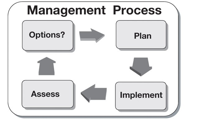 A schematic of the basic nutrient management decision-making process.