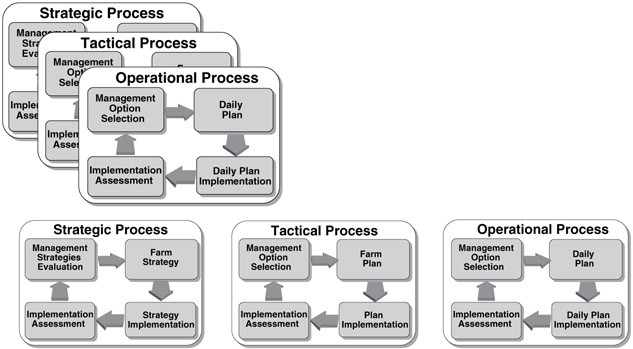 Different levels of detail in nutrient management decision-making